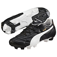 Buy Puma Classic FG Football Boots, Black/White Online at johnlewis.com