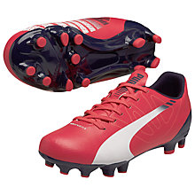 Buy Puma evoSPEED 5.3 Football Boots, Red Online at johnlewis.com