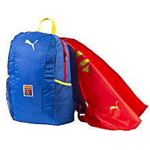Buy Puma Superman Cape Backpack, Blue/Red Online at johnlewis.com