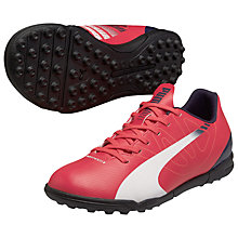 Buy Puma EvoSpeed 5.3 Football Boots, Dark Pink Online at johnlewis.com