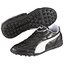 Buy Puma Classic TT Football Trainers, Black/White Online at johnlewis.com