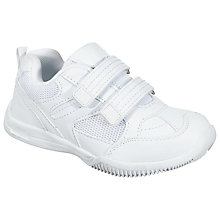 Buy John Lewis Stamford Trainers, White Online at johnlewis.com