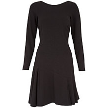 Buy Closet Glitter Godget Dress, Black Online at johnlewis.com