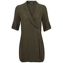 Buy Miss Selfridge Utility Playsuit, Khaki Online at johnlewis.com
