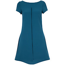 Buy Closet V Back Shift Dress, Teal Online at johnlewis.com