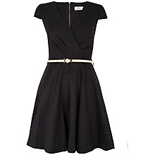 Buy Closet Jacquard Belted Dress Online at johnlewis.com