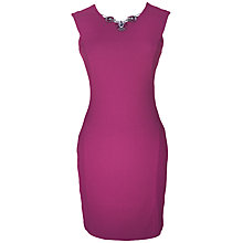 Buy Rise Delia Bodycon Dress, Berry Online at johnlewis.com