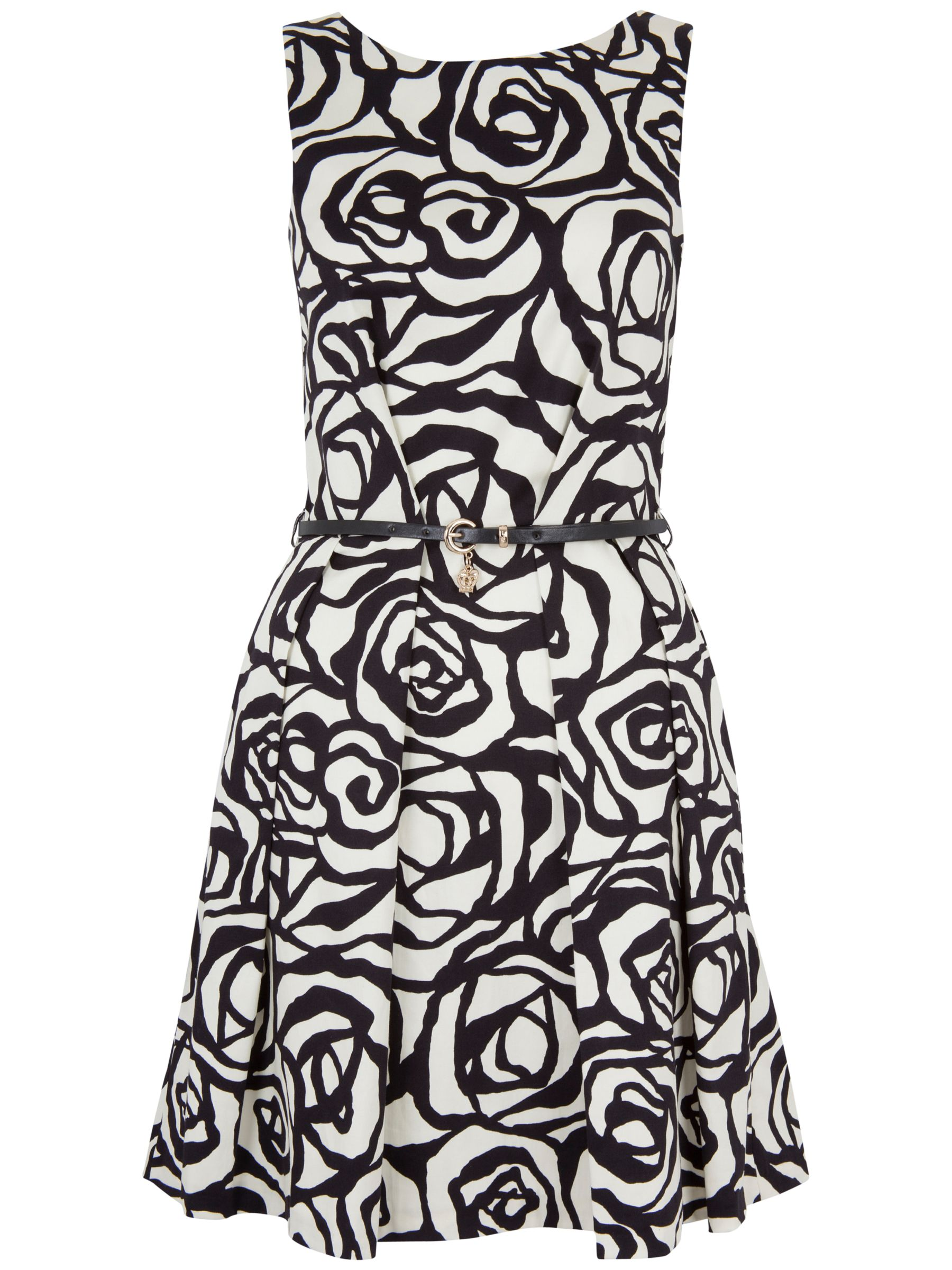 closet floral v back cotton dress white/black, closet, floral, back, cotton, dress, white/black, 8|14|10|12|16, clearance, womenswear offers, womens dresses offers, winter sun, women, inactive womenswear, new reductions, womens dresses, buy now save for spring, special offers, 1801116