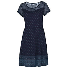 Buy Fat Face Paignton Patchwork Dress, Navy Online at johnlewis.com