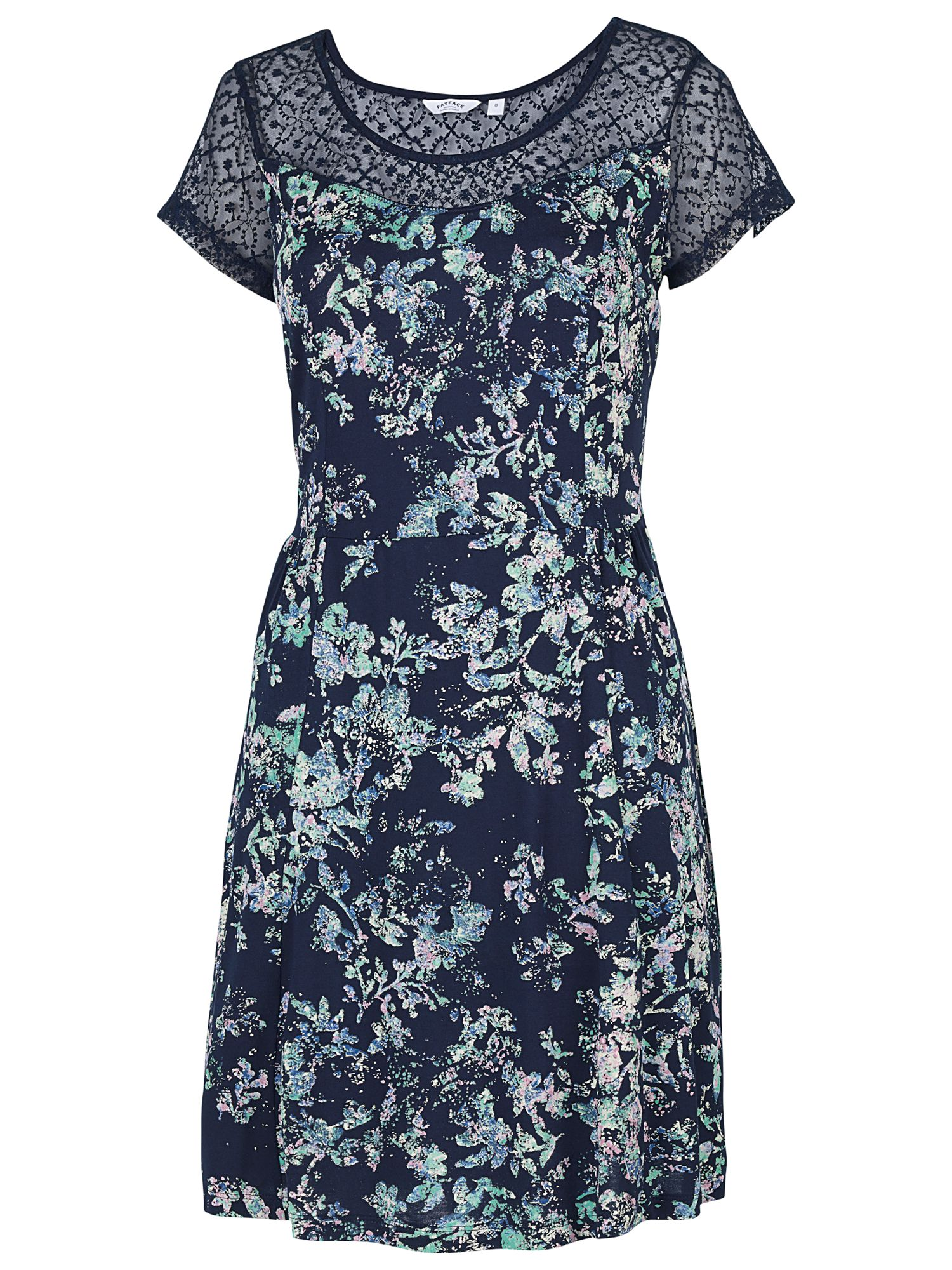 fat face paignton spray floral dress navy, fat, face, paignton, spray, floral, dress, navy, fat face, women, brands a-k, inactive womenswear, womens dresses, 1855107