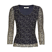 Buy Precis Petite Lace Top, Multi Online at johnlewis.com