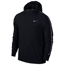 Buy Nike Dri-FIT Sprint Half-Zip Hoodie, Black Online at johnlewis.com
