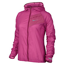Buy Nike Women's Impossibly Light Running Jacket, Pink Online at johnlewis.com