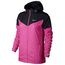 Buy Nike Vapor Running Jacket, Pink/Black Online at johnlewis.com