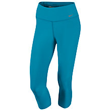 Buy Nike Legend 2.0 Tight Poly Training Capri Pants, Blue/Grey Online at johnlewis.com