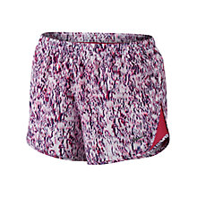Buy Nike Tempo Printed Mod Running Shorts, Hot Pink Online at johnlewis.com