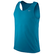 Buy Nike Miler Singlet Running Vest Online at johnlewis.com