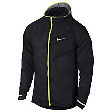 Buy Nike Impossibly Light Running Jacket, Black Online at johnlewis.com