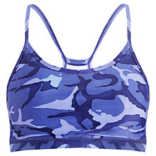 Buy Human Performance Engineering® HPE Camouflage Sports Bra, Blue Online at johnlewis.com