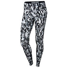 Buy Nike Leg-A-See Mishmash Print Leggings, Black Online at johnlewis.com