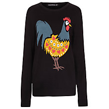 Buy Sugarhill Boutique Rooster Jumper, Black Online at johnlewis.com