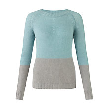Buy Jigsaw Cashmere Two Tone Jumper Online at johnlewis.com