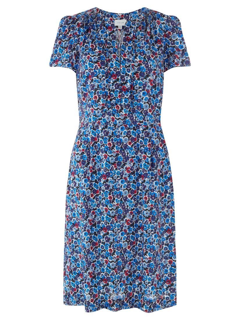 jigsaw bloom tea dress blue, jigsaw, bloom, tea, dress, blue, 8|16|14|12|10, women, womens dresses, brands a-k, jigsaw clothing & accessories, jigsaw womenswear, 1809832