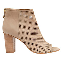 Buy Mint Velvet Maddison Leather Shoe Boots, Sand Online at johnlewis.com
