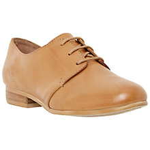 Buy Dune Fizz Leather Lace Up Shoes, Tan Online at johnlewis.com
