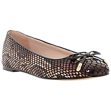 Buy Dune Heanda Pumps, Black Online at johnlewis.com
