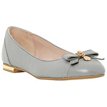Buy Dune Montee Reptile Pumps, Grey Online at johnlewis.com