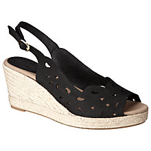 Buy John Lewis Marisa Nubuck Espadrille Sandals Online at johnlewis.com