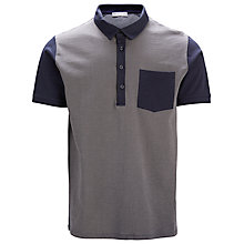 Buy Selected Homme Shjack Contrast Coloured Polo Shirt, Navy Blazer Online at johnlewis.com