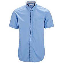 Buy Selected Homme Shallan Short Sleeve Shirt, Blue Depths Online at johnlewis.com