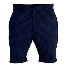 Buy Selected Homme Zero Geo Shorts, Navy Blazer Online at johnlewis.com