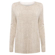Buy East Romany Oversized Jumper, Ivory Online at johnlewis.com