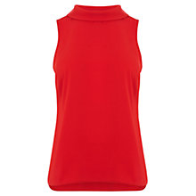 Buy Coast Queen Shell Top, Red Online at johnlewis.com