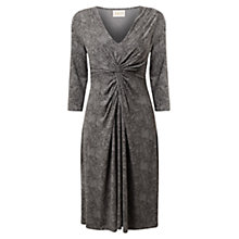 Buy East Romy Print Jersey Dress, Slate Online at johnlewis.com