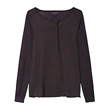 Buy Gerard Darel Knitted Top, Black Online at johnlewis.com