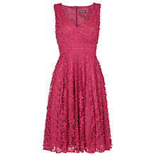 Buy Phase Eight Avalina Fit and Flare Dress, Azalea Online at johnlewis.com