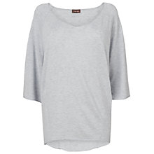 Buy Phase Eight Gwen Raglan Jumper, Silver Marl Online at johnlewis.com
