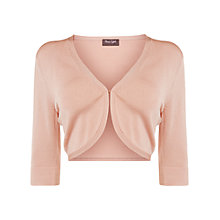 Buy Phase Eight Knitted Shrug, Nude Online at johnlewis.com