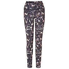 Buy Phase Eight Toria Print Trousers, Navy/Coral Online at johnlewis.com