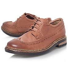 Buy KG by Kurt Geiger Arthur Leather Brogues, Tan Online at johnlewis.com