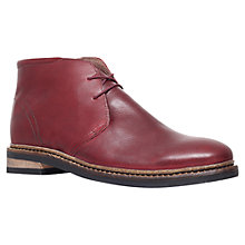 Buy KG by Kurt Geiger Godfrey Leather Lace-Up Boots Online at johnlewis.com