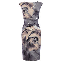 Buy Coast Harmony Print Dress, Grey Online at johnlewis.com