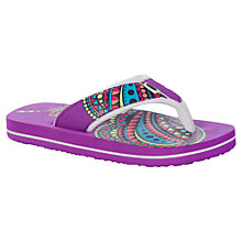 Buy Animal Children's Swish Flip Flops Online at johnlewis.com