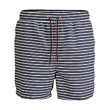 Buy Selected Homme Stripe Swim Shorts, Navy/White Online at johnlewis.com