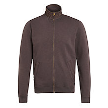 Buy Woolrich John Rich & Bros. Athletic Fleece Zip Top, Urban Grey Online at johnlewis.com