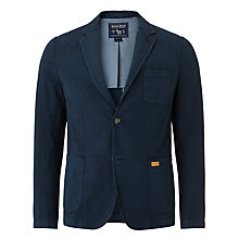 Buy Woolrich John Rich & Bros. Cotton Linen Blazer, Midnight Navy Online at johnlewis.com